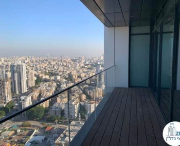 מרפסת של משרד להשכרה במגדל רסיטל תל אביב