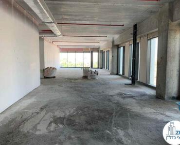 שטח של משרד להשכרה ברמת מעטפת במגדל רסיטל תל אביב