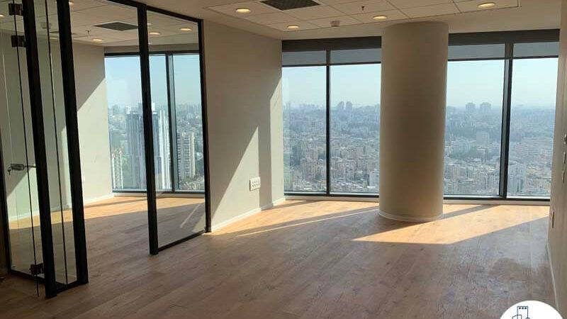 אופן ספייס של משרד להשכרה במגדל רסיטל בתל אביב