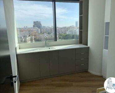 מטבחון של משרד להשכרה מגדל רסיטל תל אביב