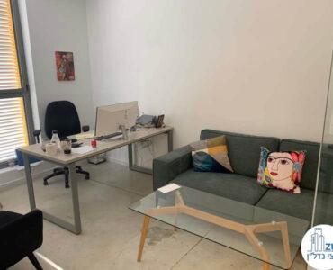 חדר עבודה של משרד להשכרה בשכונת מונטיפיורי תל אביב