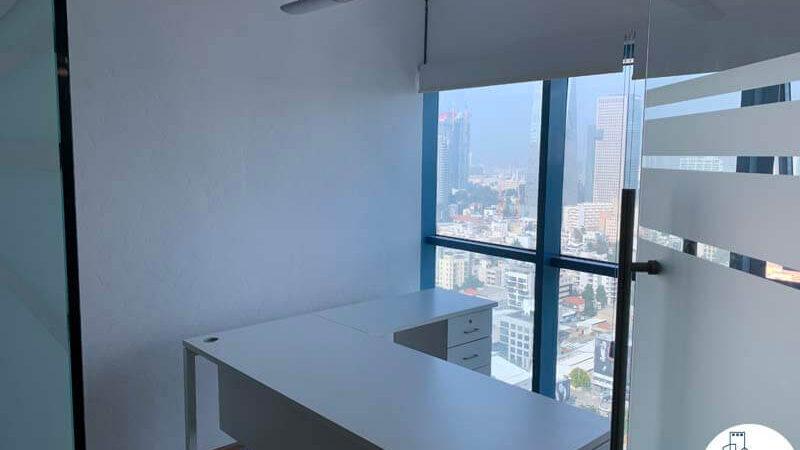 חדר של משרד להשכרה במגדל טויוטה תל אביב