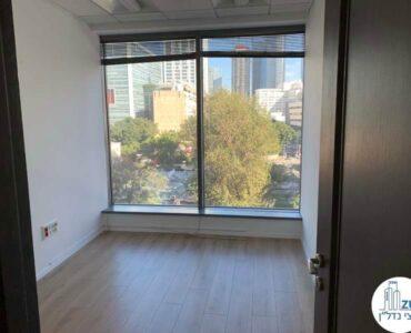 חדר של משרד להשכרה במגדל המוזיאון תל אביב