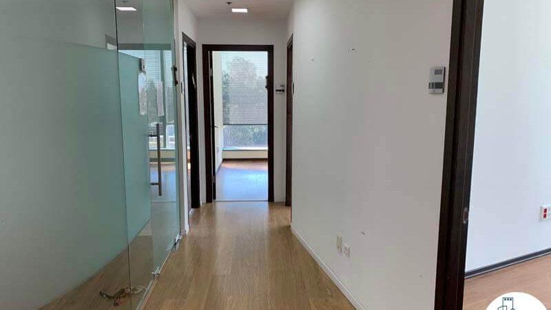 כניסה לחדרים של משרד להשכרה במגדל המוזיאון תל אביב