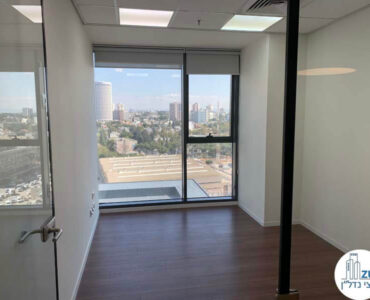 חדר עבודה של משרד להשכרה במגדלי אלון תל אביב