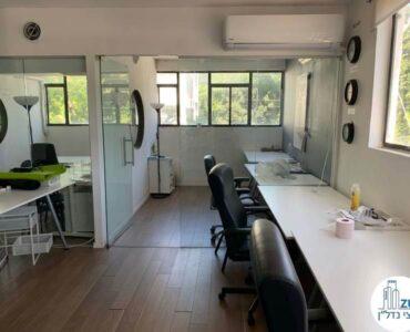 כניסה לחדר של משרד להשכרה בשכונת מונטיפיורי תל אביב
