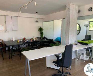 אופן ספייס של משרד להשכרה בשכונת מונטיפיורי תל אביב