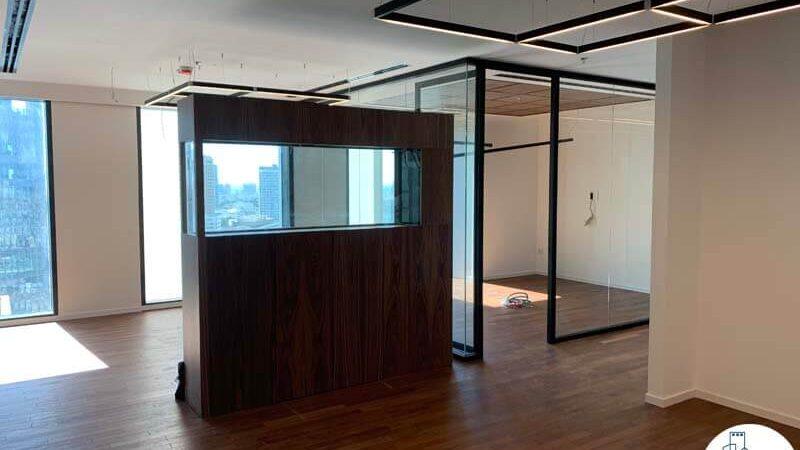 רחבת כניסה של משרד להשכרה במגדל רסיטל תל אביב