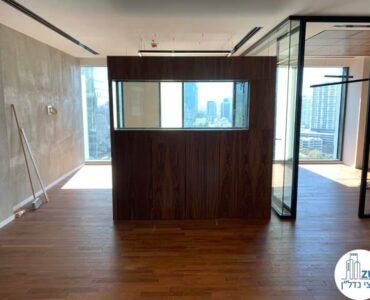 אקווריום של משרד להשכרה במגדל רסיטל תל אביב