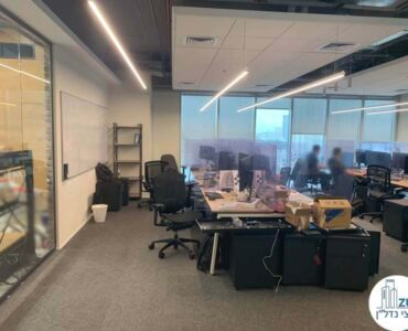 אופן ספייס של משרד להשכרה במגדל WE תל אביב