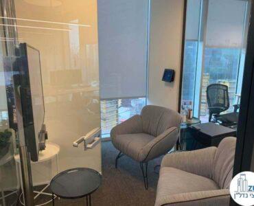 חדר מנוחה של משרד להשכרה במגדל WE תל אביב