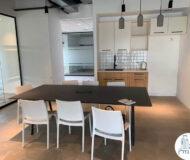 פינת אוכל של משרד להשכרה במגדל אדגר 360C תל אביב