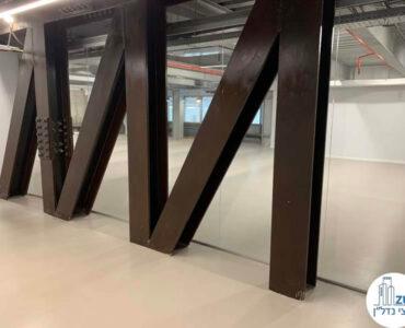קיר של חדר של משרד להשכרה במתחם הארבעה במגדל פלטינום תל אביב