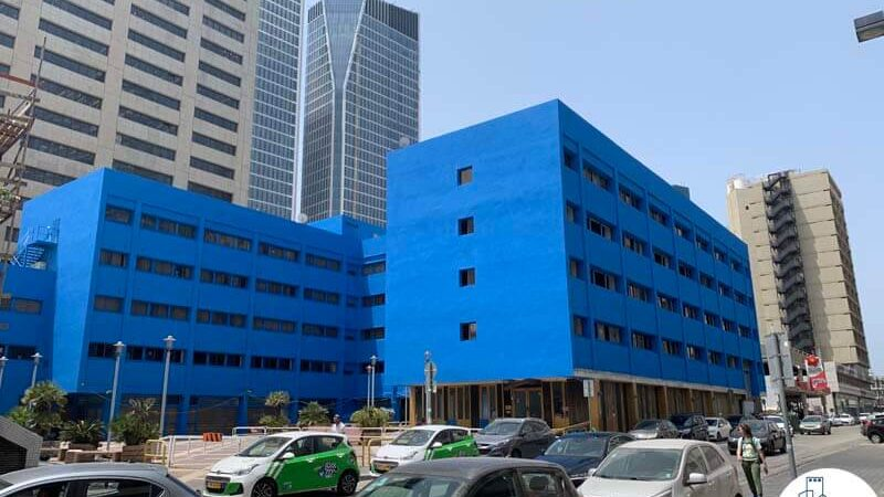 הבית הכחול, רחוב המלאכה 6 תל אביב