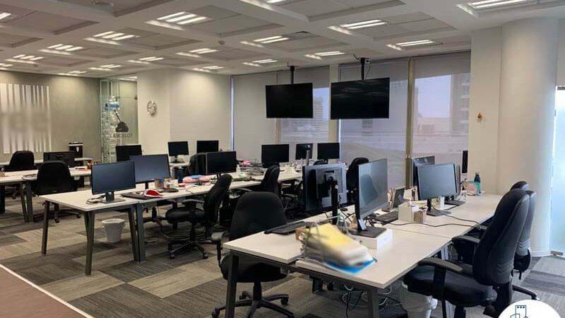 אופן ספייס של משרד להשכרה לחברות הייטק במתחם בית המשפט תל אביב